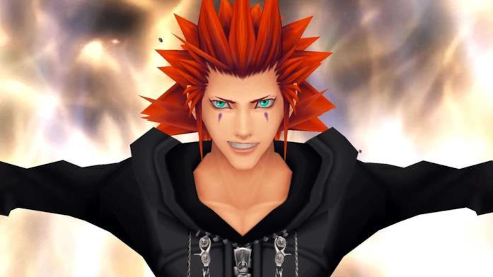 Axel nei videogiochi Kingdom Hearts
