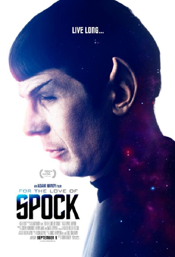 Il poster del documentario For the Love of Spock