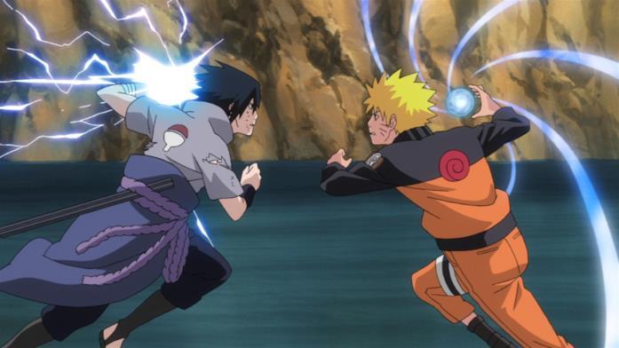 Naruto VS Sasuke battaglia