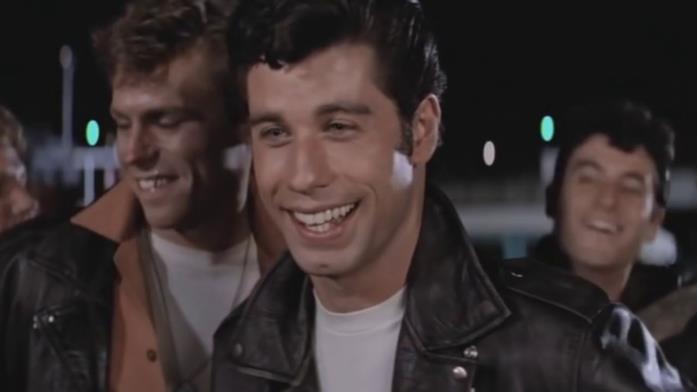 John Travolta in Grease - Brillantina