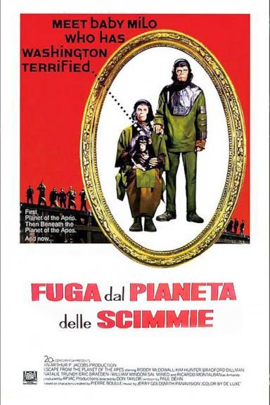 Poster Fuga dal pianeta delle scimmie