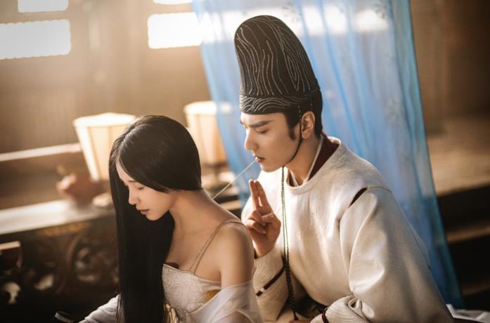 Olivia Wang e Mark Chao in una scena del film The Yin-Yang Master: Dream of Eternity