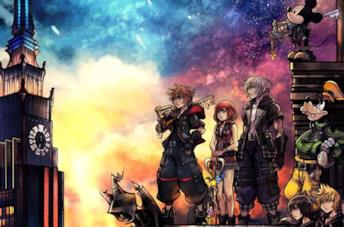 Kingdom Hearts 3: la cover del videogame