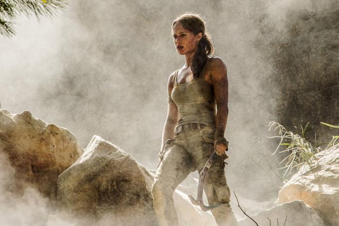 Un'immagine di Alicia Vikander come Lara Croft