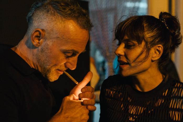 Aniello Arena e Antonia Truppo in una scena del film Ultras