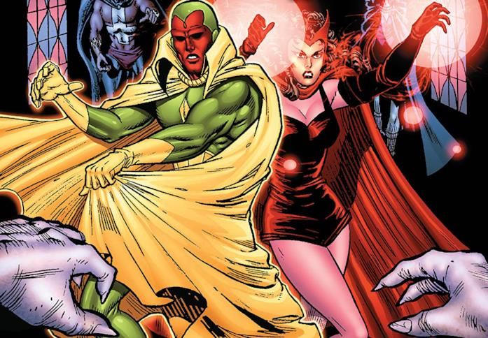 Dettaglio della cover Avengers: Vision and the Scarlet Witch - A Year In The Life