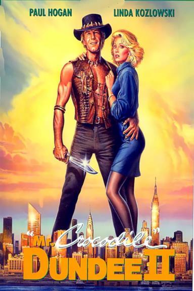 Poster Mr. Crocodile Dundee II