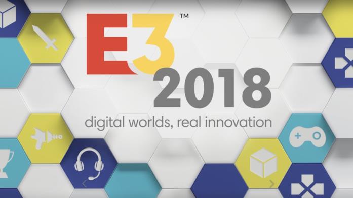Il nuovo logo dell'E3, lanciato per l'edizione 2018
