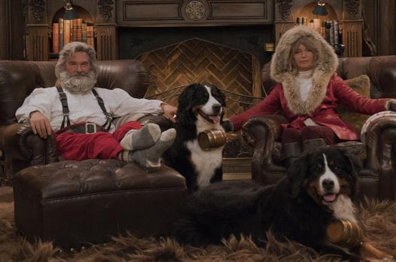 Qualcuno salvi il Natale 2: il sequel Netflix con Kurt Russell e Goldie Hawn