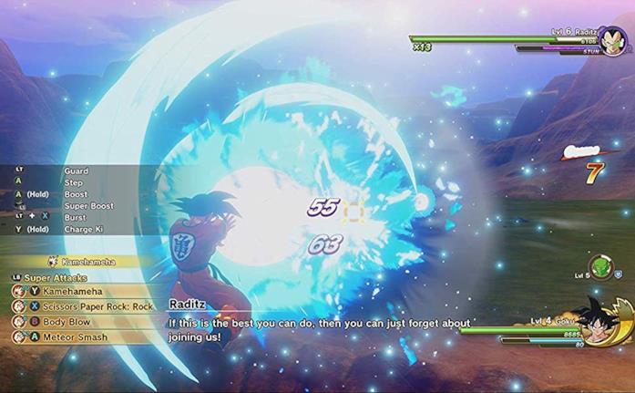 Dragon Ball Z: Kakaroth Kamehameha