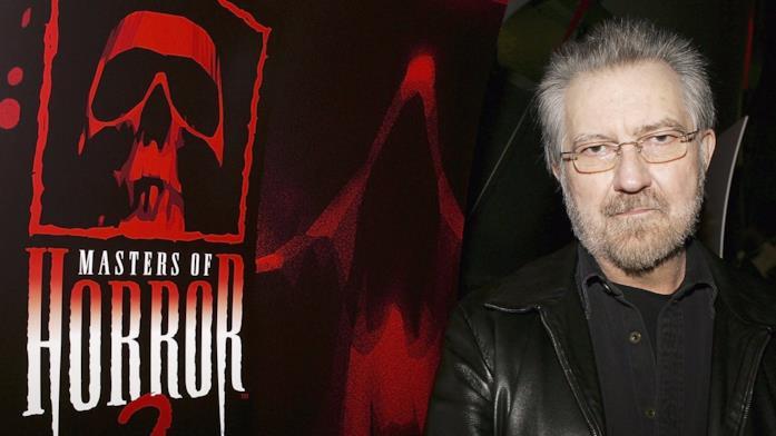 Tobe Hooper sul red carpet dei Masters of Horror