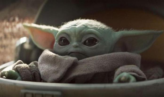 Baby Yoda di The Mandalorian