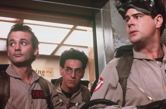 Una scena del primo Ghostbusters - Acchiappafantasmi