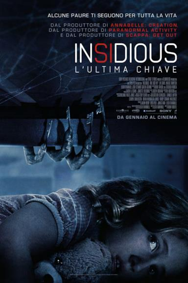 Poster Insidious - L'ultima chiave
