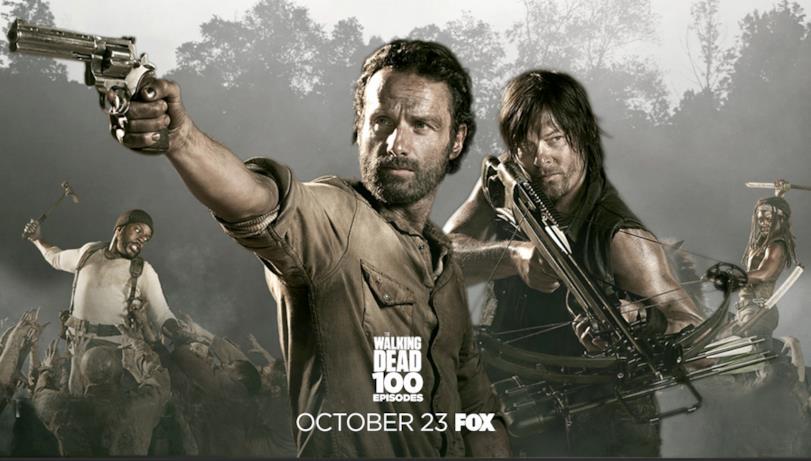 Poster episodio 100 di The Walking Dead: stagione 4