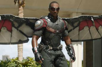 Falcon in Captain America: Civil War