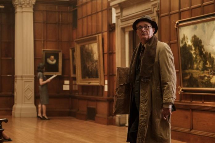 Il protagonista esplora la National Gallery