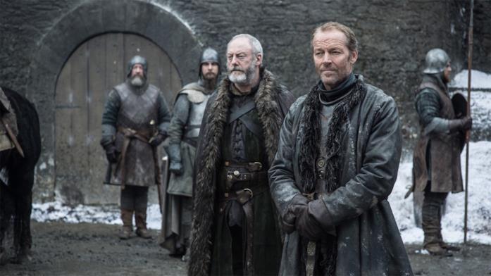 Ser Jorah Mormont a Grande Inverno