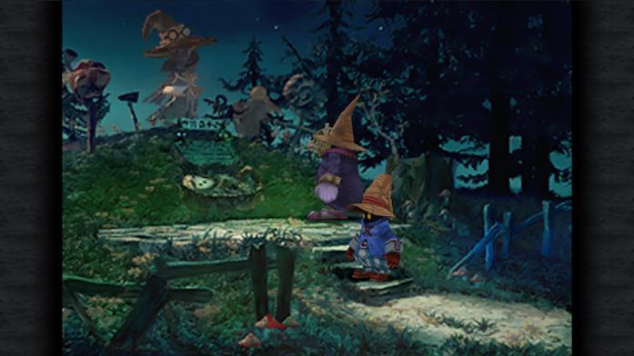Vivi in un'immagine di gioco da Final Fantasy IX