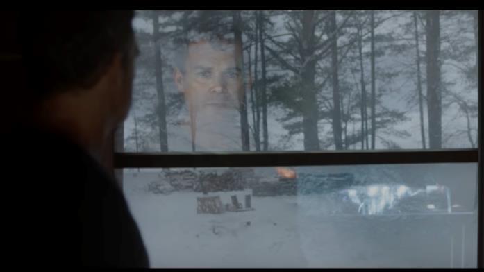Una scena del teaser di Dexter