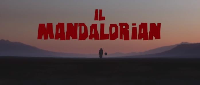 I titoli del fan-trailer di The Mandalorian
