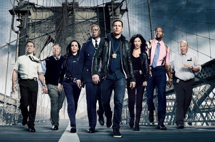 Il cast di Brooklyn Nine-Nine