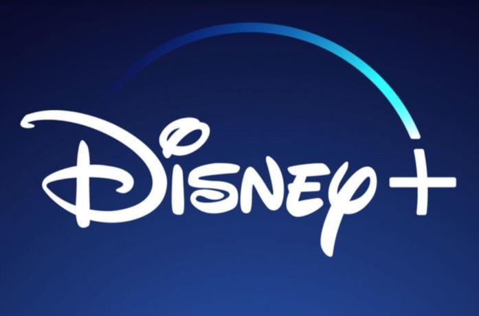 Il logo del servizio streaming Disney+