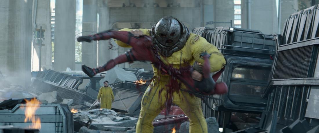 Fenomeno nelle nuove immagini di Deadpool 2