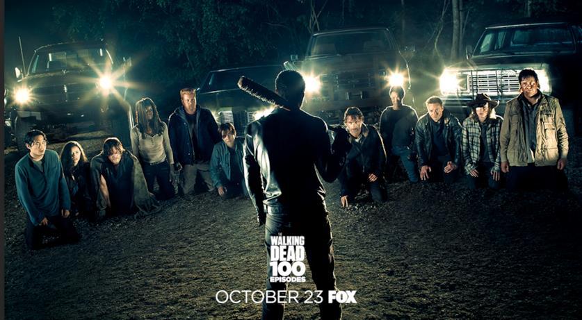 Poster episodio 100 di The Walking Dead: stagione 7