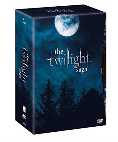 Cofanetto The Twilight Saga Exclusive Collection (12 DVD)