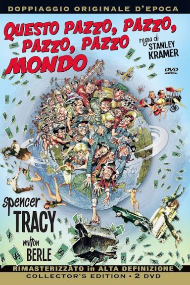 Poster Questo pazzo, pazzo, pazzo mondo