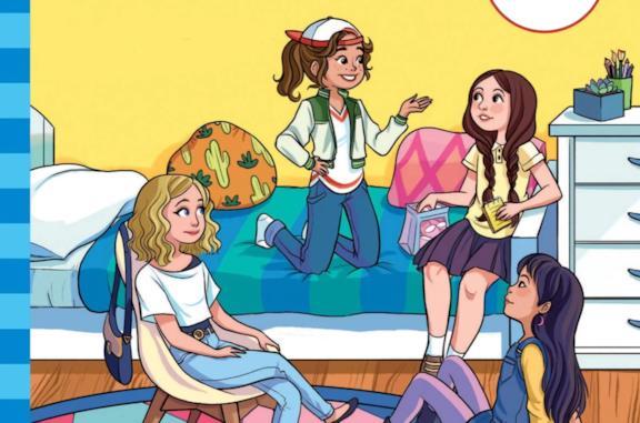 Le protagoniste dei libri de Il club delle baby-sitter