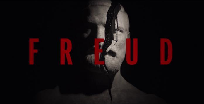 La testa di Freud nella sigla dell'episodio 1 è spaccata in due