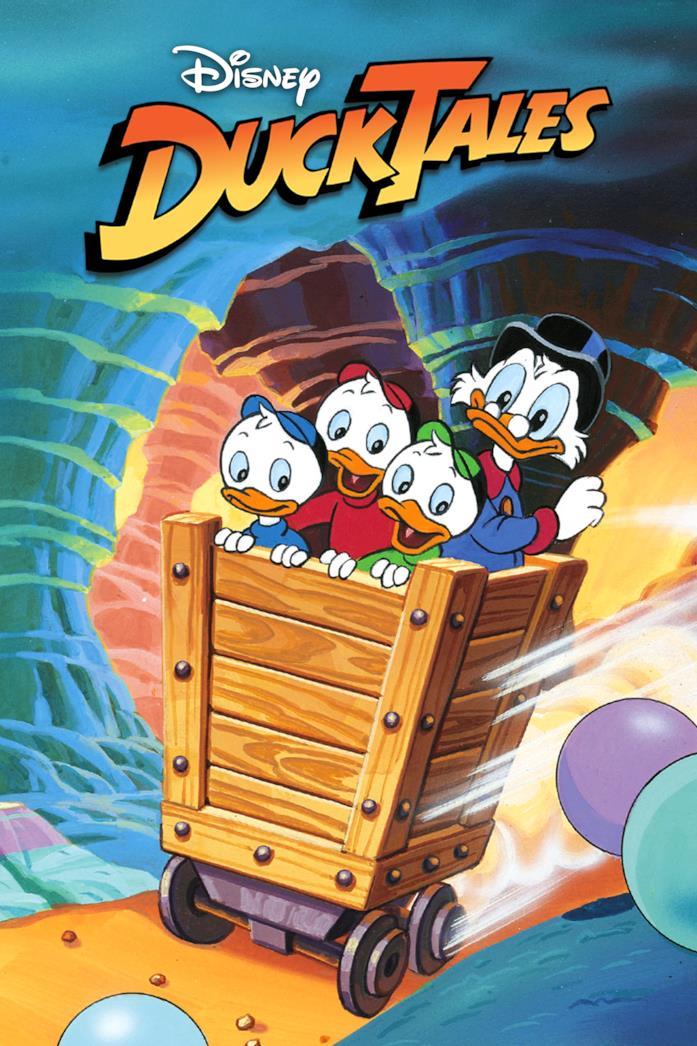 Paperone, Qui, Quo e Qua sono i protagonisti di DuckTales