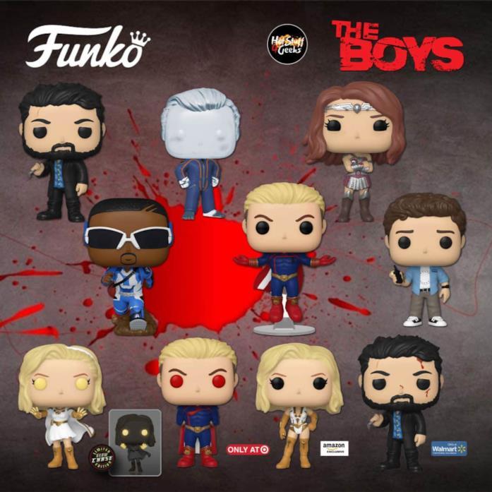 The Boys seconda stagione Funko POP