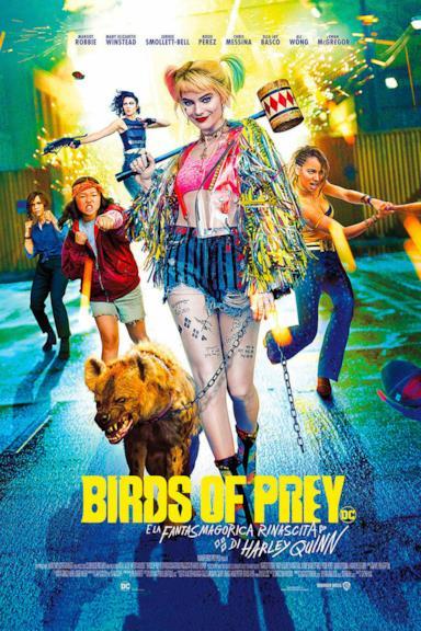 Poster Birds of Prey e la fantasmagorica rinascita di Harley Quinn