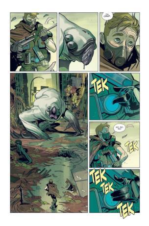 Anteprima di Oblivion, fumetto di Robert Kirkman presentato al Comic Con di New York