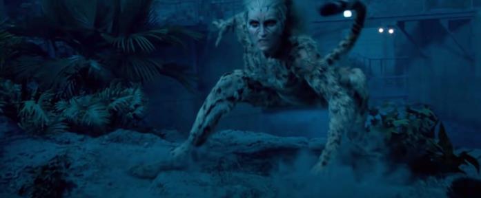 Cheetah in una scena di Wonder Woman 1984