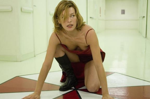 Primo piano di Milla Jovovich