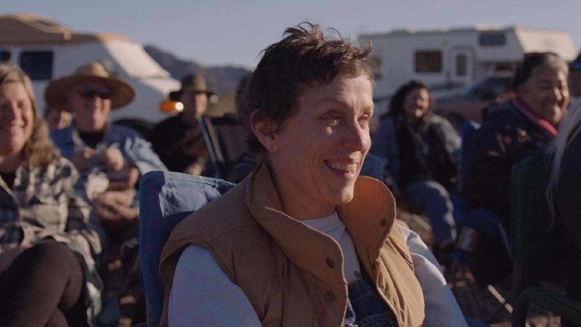 Un'immagine dal film Nomadland