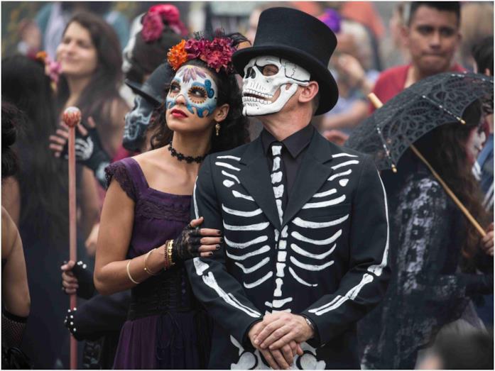 La scena iniziale in Messico di Spectre