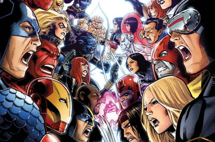La cover dell'albo Avengers vs. X-Men Volume 1