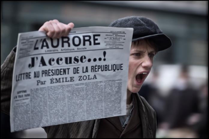 L'articolo J'accuse di Emile Zola
