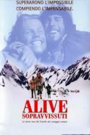 Poster Alive - Sopravvissuti