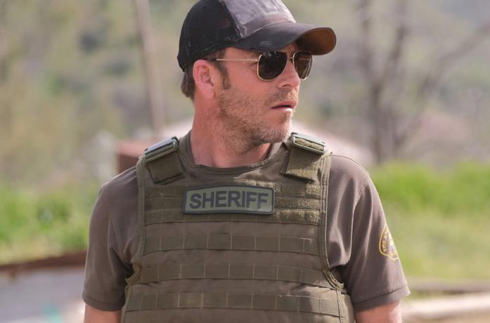 Il protagonista della serie TV Deputy