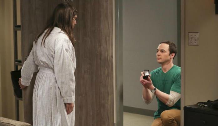 La scena finale della decima stagione di The Big Bang Theory