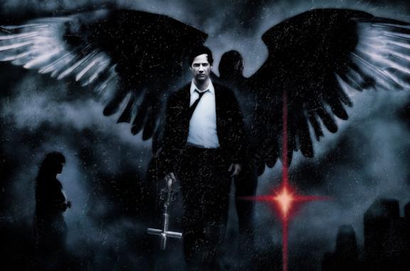 John Constantine sulla locandina del primo film