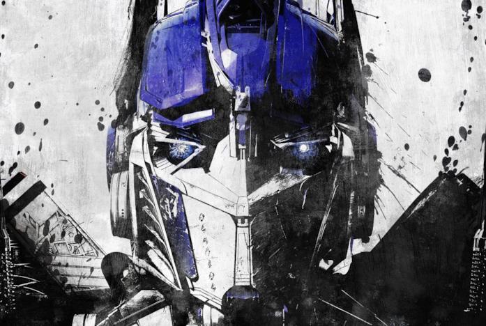 Optimus Prime disegnato