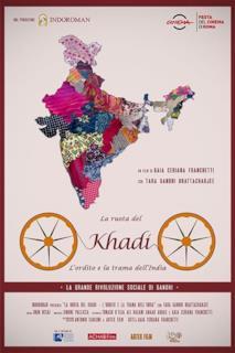 Poster La ruota del Khadi - L'ordito e la trama dell'India