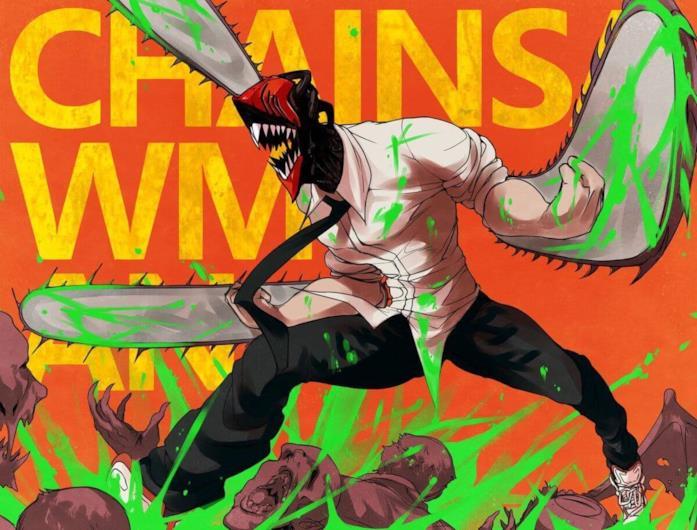 Chainsaw Man copertina manga